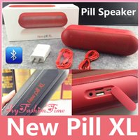 Wholesale New Pill XL Bluetooth Speakers Top Quality Deep Bass New Pill XL Speakers Bluetooth For iPhone s Tablet with Retail Package In Stock