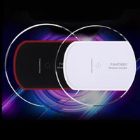 apple iphoen - Universal Qi Wireless Charger Charging For iphoen Samsung Note Galaxy S6 s7 Edge mobile pad with usb cable