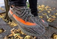 Wholesale With Box Receipt Boost SPLY V2 Sneakers Kanye West Shoes Black SPLY Boost Season Running Shoes Sneakerss Grey With BOX