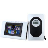 Wholesale Wireless weather clock digital temperature humidity meter Indoor Humidity Monitor