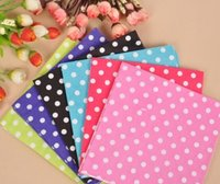 Wholesale New bag Colored Dots Paper Towels Wedding Party Birthday Fashion Festive Event Supplies