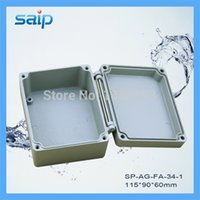 aluminium applications - Waterproof Aluminium Enclosure Aluminium Waterproof Box for Industrial Application IP mm SP AG FA