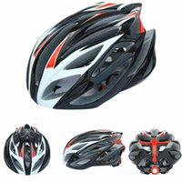 Wholesale black white red new Capacete Ciclismo Safety men s sport Cycling Helmet Head Protect Bicycle Helmet Mountain Road Bike Helmet