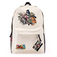 Wholesale NEW NARUTO Nylon school bag Computer Bag Backpack