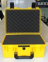 Wholesale high quality Tool case box mm waterproof equipment case Impact PP ALLOY tool case tool box with Sponge Foam GL