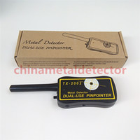 Wholesale Handheld Metal Detector Dual Use PinPointer TX Professional Detectors Super Scaner Security Wand