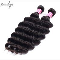 amazing hairs - 7A Indian Virgin Hair Ripple Deep Weave Temple Hair Deep Curly Tissage Bresilienne Beach Weave Indian Hair Amazing Hair Company