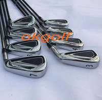 Wholesale 2016 new headlights Golf Club Irons forged irons set steel shaft X6 high quality golf clubs