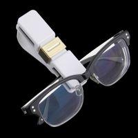 Wholesale Car Auto Glasses Sunglasses Card Visor Pen Business Card Clip Holder Black Elegant Equipment