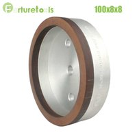 Wholesale 1piece Resin diamond cup wheel for glass Dia100x8x8 hole grit Glass abrasive tools China online factory BL022