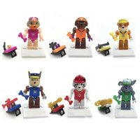 baby spain - Marshall in Spain Game Puppy Dog Minifigures Animal Action Figures Model Building Blocks Sets Patrol Baby Toys