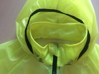 Wholesale 2016 green outdoor use mountain hiking ride comfortable lightweight raincoat