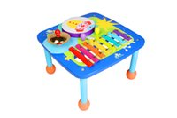 Wholesale Colorful attractive Delightful percussion circus music table kids early learn music teaching sounds activity play table kids music toys