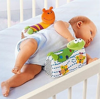Wholesale Sozzy Infant Sleep Positioner Baby Anti roll Pillow Baby Pillow Infant Toddler Ultimate Vent Sleep System Baby Pillow Positioner