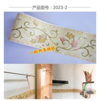 anchor sound - The PVC stick wallpaper Play the anchor line kitchen bathroom toilet waist stick crural line Rural style bag mail