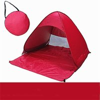 Wholesale Outdoor Double Person Automatic Open Multicolor Camping Tent inches