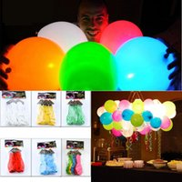 led balloons - Brand New bag Light Balloons Festivel Party Decorations LED Balloons Outdoor Indoor Balloon Toys for Children