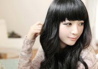 beautiful purpose - beautiful lady multi purpose hair bang neat inclined and both sides extended neat bangs color