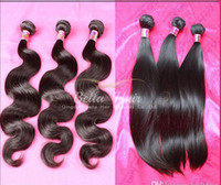 Peruvian Hair amazing hairs - Brazilian Body Wave Mink Hair Human Hair Brazilian Hair Weave Unprocessed Hair Straight Hair Extensions Weft Amazing yourself Bella Hair