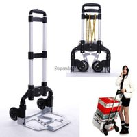 Wholesale Utility Cart Portable Folding Hand Truck Aluminum Moving Hauling