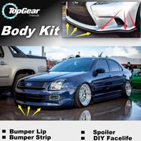 Wholesale Bumper Lip Lips For Ford Fusion Front Skirt Deflector Spoiler For Car Tuning The Stig Recommend Body Kit Strip