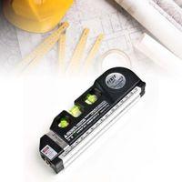 Wholesale Laser Level Horizon Vertical Measure FT Aligner Standard and Metric Rulers A609