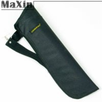 Wholesale Maxin quot Traditional Archery Black Oxford Side Belt Waist Arrow Quiver Holder Bag Arrow Quiver Freeshipping