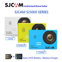 Wholesale SJCAM SJ5000 Series SJ5000 SJ5000 WIFI SJ5000X Elite WiFi K Gyro Sports Action Camera Extra Battery Battery Charger
