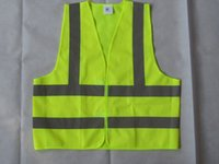 Wholesale Customized print Reflective Safety Clothing Worker Clean sanitation highway road traffic reflective warning vest high light reflective vests
