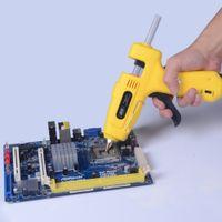 Wholesale 100 V W W Professional Hot Melt Glue Gun with Glue Sticks Practical Heating Craft Repair Tool