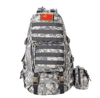 Wholesale Nylon Backpack L Emergency pack Waterproof Travel shoulder bags Camouflage solid color D Tactical Neutral both men and women Nylon Back