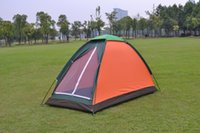 Wholesale 2016 high quality Waterproof Outdoor Camping Fishing Tent Single Layer Waterproof Portable UV resistant Person