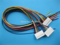 Wholesale 10 Pitch mm Pin Female Connector with AWG mm Leads Cable connector vga