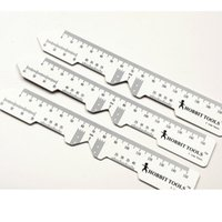 Wholesale amp Retail Pieces PD Ruler Optical Instruments Pupil PD Distance Ruler