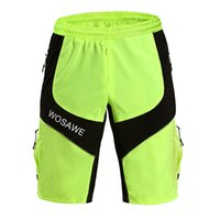 baggy bicycle shorts - WOSAWE New ciclismo Cycling shorts MTB DOWNHILL Motorcross baggy men s sports bike bicycle riding basketball shorts