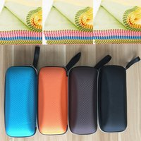 Wholesale Promotioning Sunglass Fabric Cases Sun Glasses Fabric Boxes With Cleaning Cloth Many Color Available