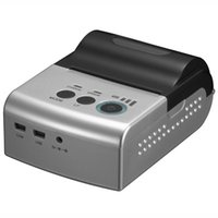 Wholesale Silver inch mm mPOS Mini USB OTG Mobile Thermal Receipt Printer for Android Devices and Windows PC USB directly connected to Android