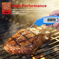 barbeque thermometers - New LCD Instant Digital BBQ Cooking Meat Tool Kitchen Barbeque Barbecue Thermometer with Stainless Steel Food Probe Sensor