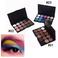 best makeup blue eyes - 15 Color Shimmer Eyeshadow Palette Professional Eye Shadow Foundation Nude Makeup Smoky Pearl Eyeshadow Best LJJG375