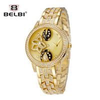 acier watch - Luxury women watches lady Luxury M brand watch Femme chinoise Ronde Acier inoxydable Bracelet Loisir Quartz Batterie étanche Simulation Quar