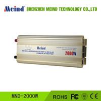 Wholesale 2000W Power Inverter Pure Sine Wave DC to AC Converter Solar Inverter AC Adapter Watt Inverter Power Supply Wave Inverte Meind Dropshipping