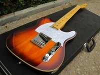 ash tele body - Vintage Sunburst Ash body F Tele Electric Guitar China guitar Guitare with hardcase