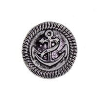 anchor jewellry - NSB2644 Hot Sale mm Snap Jewelry Snap Buttons For Snap Buttons Jewellry Fashion DIY Charms Snap Anchor Design