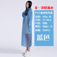 Wholesale Adult mountaineering tour concert on foot bicycle raincoat waterproof raincoat poncho thickened riding fishing