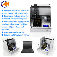 Wholesale high precision operation homemade small milling machine for jewelry dog tag rings manufacturing machine