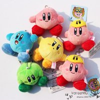 baby kirby - 10sets Kirby Plush Toys cm Kriby Stuffed Plush Pendants With Tag Soft Dolls For Baby set