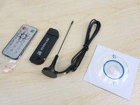 Wholesale NEW USB DVB T RTL SDR Realtek RTL2832U R820T DVB T Tuner Receiver MCX Input