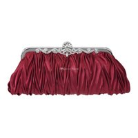 Wholesale New Elegant Evening Bag With Removable Chain Rhinestone Prom Clutch Bridal Purse Style Handbag In Stock