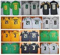 authentic college football jersey - 2016 New Cheap Oregon Ducks Jersey Marcus Mariota Vernon Adam Jr Royce Freeman Jersey Authentic College Football jerseys