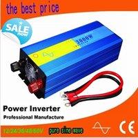 Wholesale 3000w pure sinus inverter W pure sine wave inverter v v hz power supply peak W DC12V V V Hz Hz